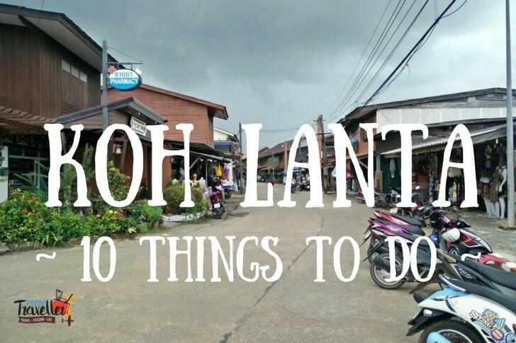 koh lanta - ten things to do