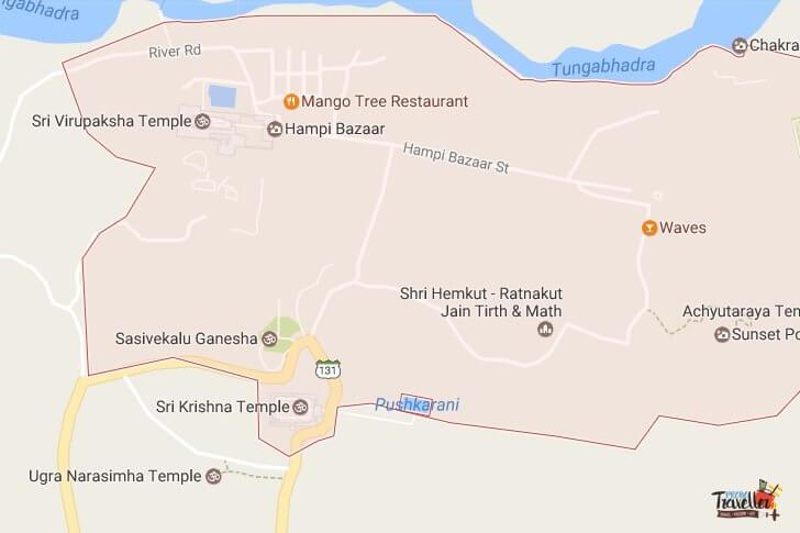 Places to Visit around Hampi - Set#1