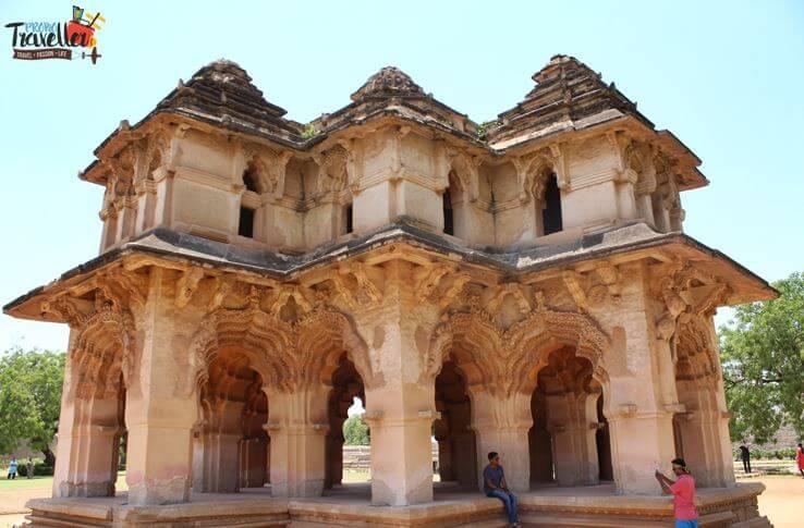 Lotus Mahal. Hampi - Places to Visit around Hampi