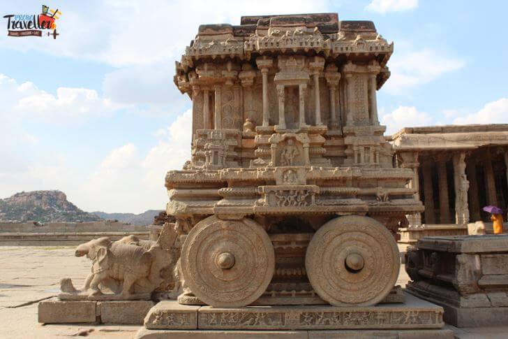 Stone Chariot, Vittahala Temple, Hampi - Places to Visit around Hampi