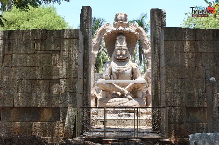 Urga Narasimha Temple, Hampi- Places to Visit around Hampi